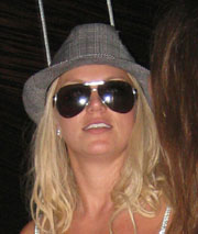 Britney at Jet Nightclub in the early morning hours of September 9th