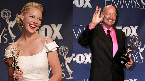 Katherine Heigl and Terry O'Quinn