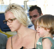 Britney's visitation rights suspended