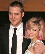 Ryan Gosling and Rachel McAdams at the SAG awards Jan 28 2007