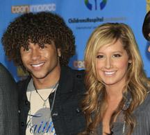 Corbin Bleu and Ashley Tisdale of High School Musical
