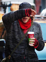 Heath Ledger in NYC on November 17