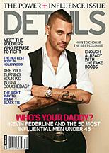 Kevin Federline on the cover of Details magazine