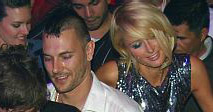 Kevin Federline and Paris Hilton at LAX in Las Vegas