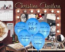 Christina Aguilera's homepage