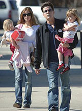 Charlie Sheen & Denise Richards head to court Jan 22/08 with their children