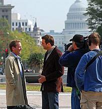 24 filming season 7 in Washington, D.C.
