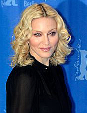 Madonna at the Berlin Film Festival