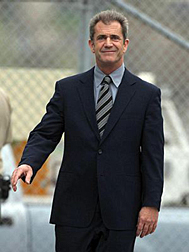 Mel Gibson after his court appearance