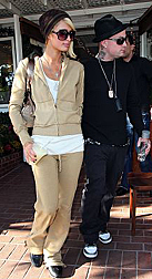 Paris Hilton and new boyfriend Benji Madden
