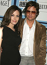 Pitt, Jolie, related to Obama and Clinton?