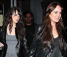 Ali and Lindsay Lohan