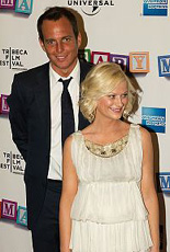 Amy Poehler and husband Will Arnett