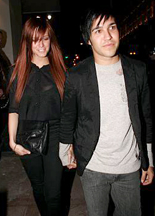 Ashlee Simpson and Pete Wentz engaged