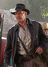Harrison Ford in the new Indiana Jones movie