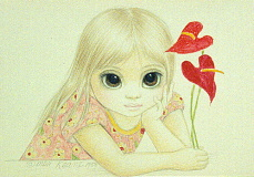 Painting by Margaret Keane