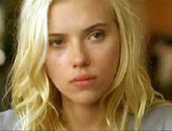 Scarlett Johansson in a scene from Vicky Cristina Barcelona
