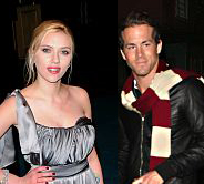 Scarlett Johansson and Ryan Reynolds engaged