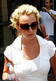 Overnight visits for Britney Spears
