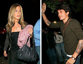 Jennifer Aniston & John Mayer: heating up
