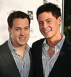 T.R. Knight and boyfriend Mark Cornelson