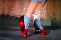 Dorothy's shoes dance again