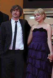 Spike Jonze and Michelle Williams