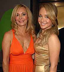 Lesley and Hayden Panettiere