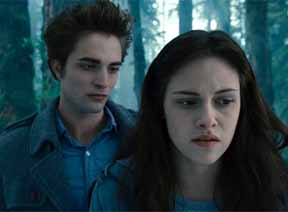 Twilight movie scene