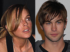 Lindsay Lohan and Chace Crawford