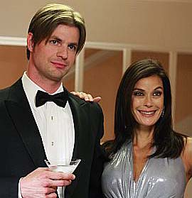 Gale Harold and Teri Hatcher in a scene from Desperate Housewives