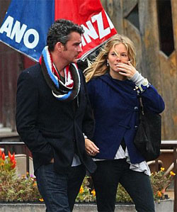 Balthazar Getty & Sienna Miller