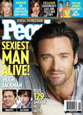 "Hugh Jackman: Will ""sexy"" status cost him Oscar?"