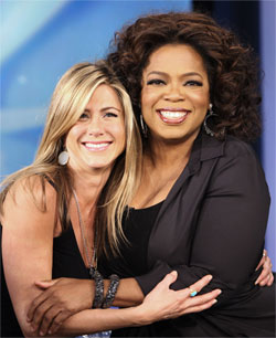 Jennifer Aniston & Oprah Winfrey