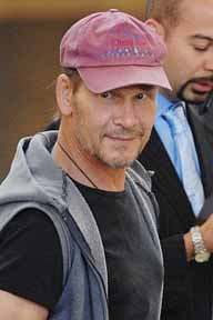 Patrick Swayze unhurt in anthrax scare