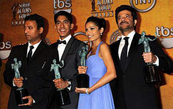 Slumdog Millionaire at the SAG Awards