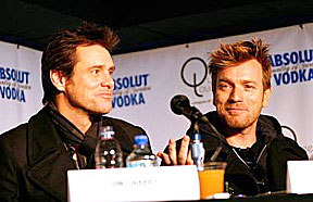 Jim Carrey, Ewan McGregor play lovers