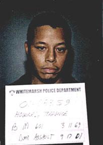 Terrence Howard 2001 mugshot