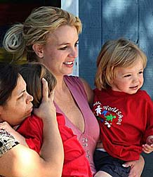 Britney and her sons