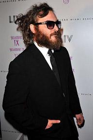 Joaquin Phoenix at LIV Nightclub in Miami