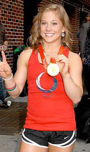 Olympic gold medalist Shawn Johnson