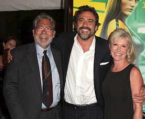 Jeffrey Dean Morgan brought his parents to the premiere