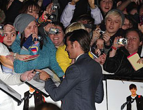 Zac Efron in London at the 17 Again premiere