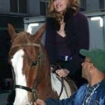 Madonna falls off horse again
