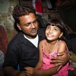 Slumdog child's father released