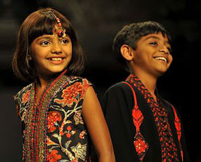 Rubina Ali and Azharuddin Mohammed from Slumdog Millionaire