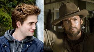 Robert Pattinson & Hugh Jackman