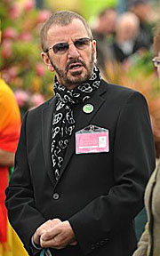 Ringo Starr at the 2009 Chelsea Flower Show in London