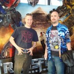 Transformers fans cheer trailer's world premiere