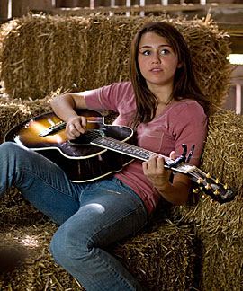 Miley Cyrus in Hannah Montana: The Movie